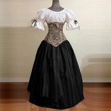 Модное платье в готическом стиле для женщин; винтажное платье принцессы с коротким рукавом в стиле пэчворк; женское платье для костюмированной вечеринки на Хэллоуин; вечерние платья;