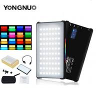 YONGNUO YN365 RGB LED Video Light 12W Pocket On Camera Colorful Photography Lighting For Canon Sony Nikon DSLR