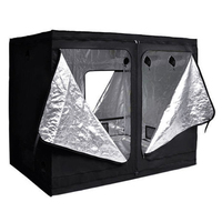 Hydrokultur Wachsen Zimmer Innen Dunklen Raum Mylar Zelt Größe: 240x120x200cm-in Markisen aus Heim und Garten bei