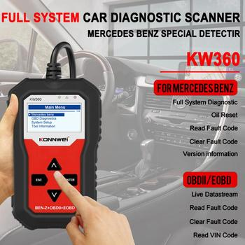 Automotive Diagnostic Scanner for Mercedes Benz/Smart/Sprinter Full System OBD2 Code Reader ABS Bleed SRS TPMS Check Engine image