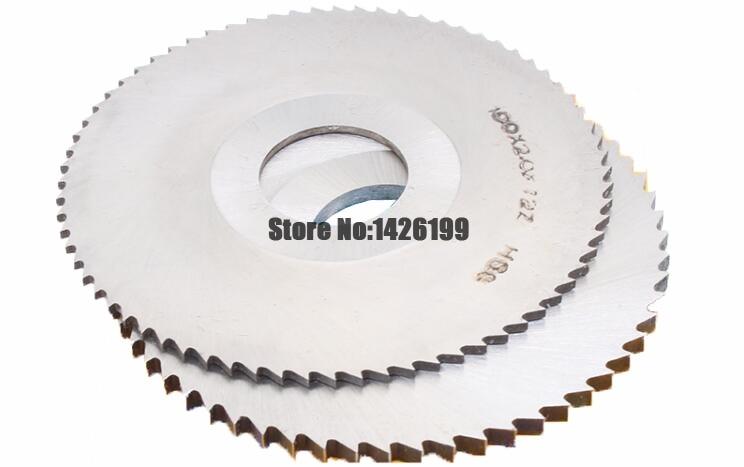 1PCS HSS Milling Cutter 40mm/50mm/60mm/75mm/80mm/100mm/125mm Thickness  0.2mm-4.0mm ,Slotting Cutter,saw Blade Milling Cutter