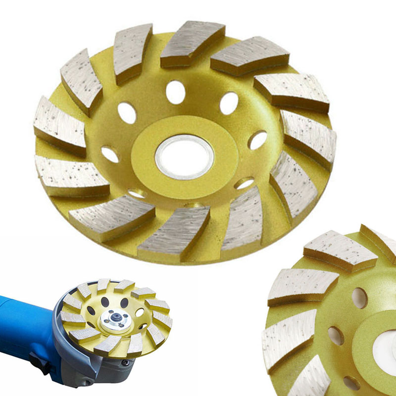 2020 Diamond Segment Grinding Wheel Discs 4″ Grinder Cup Concrete Stone Cut Brand New And High Quality