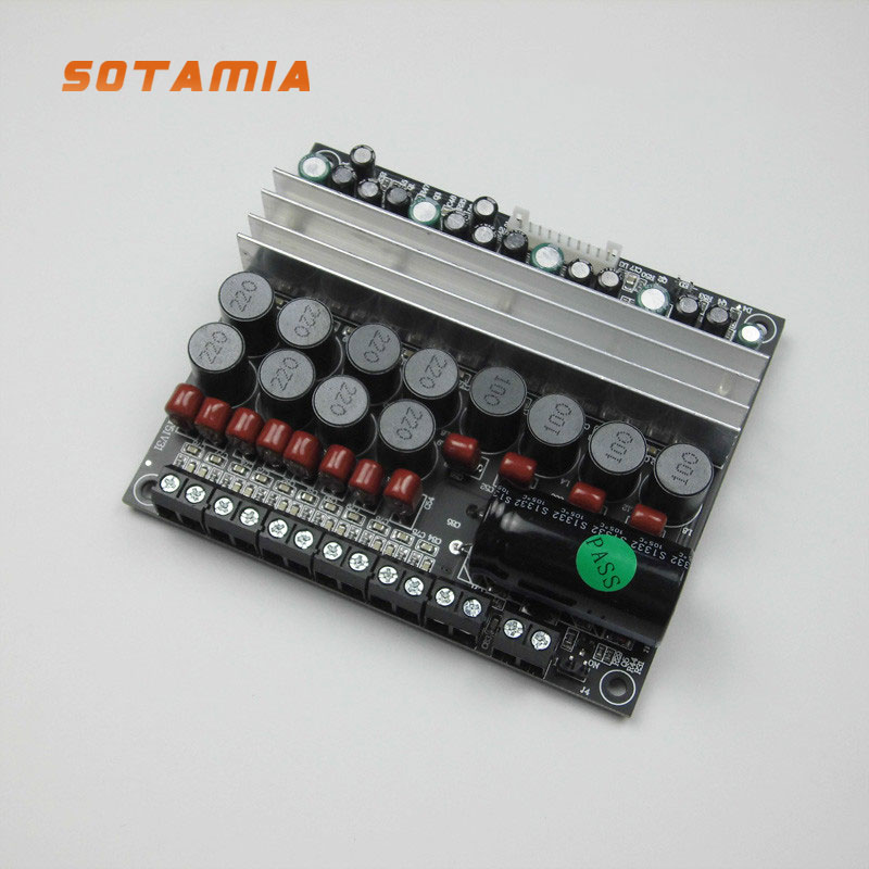 SOTAMIA TPA3116 Power Amplifier Audio Board 5.1 Channel Digital Sound Amplifiers 50W*4 100W*2 DIY 5.1 Home Theater DC12-24V