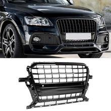Для SQ5 стиль автомобиля переднего бампера сетки решетка гриль Подходит для Audi Q5 8R 2013 автомобильные аксессуары