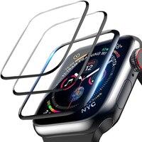 Pellicola morbida in ceramica protettiva completa per Apple Watch pellicola salvaschermo 42mm 44mm 40mm 38mm iwatch 5 4 3 2 1 6 SE vetro non temperato