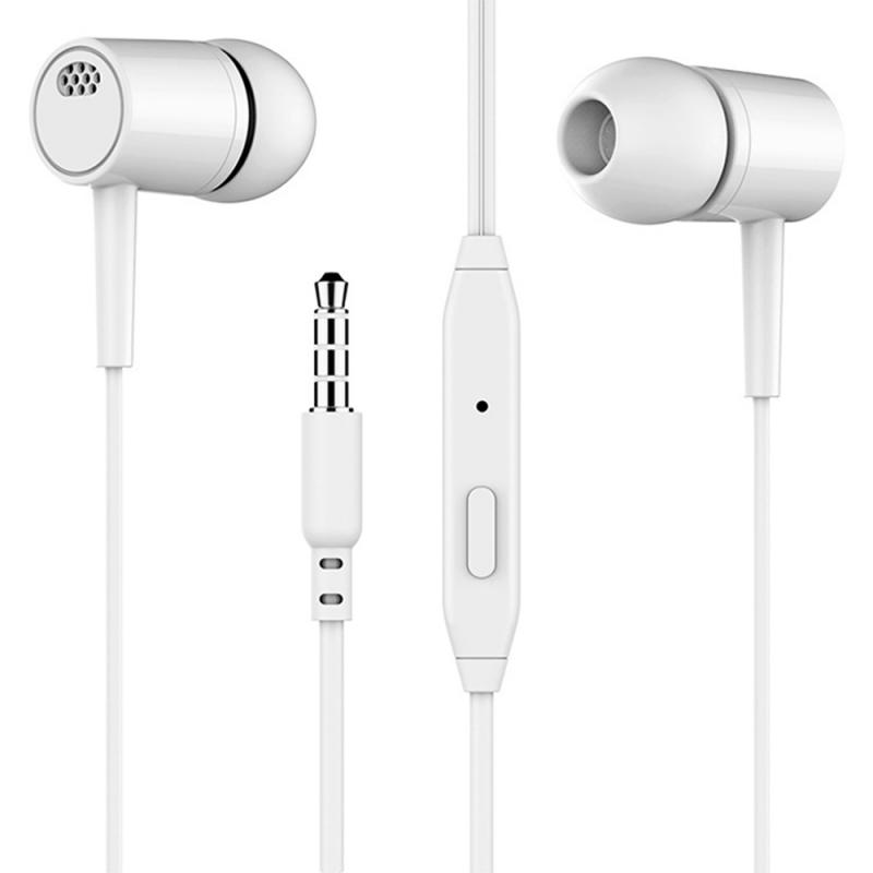 Wired Earphone Earbuds Computer Subwoofer Universal Stereo-In-Ear for with Mic Headet title=