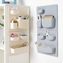 Бытовой пастообразный настенный подвесной стеллаж для кухни, отделочный стеллаж для ванной комнаты, настенный стеллаж для хранения ZP7021155