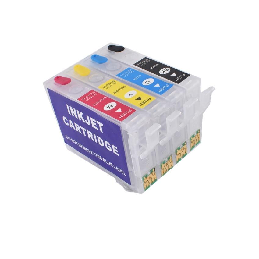 502XL 502 Rerfillable  Ink Cartridge Auto Reset Chip For EPSON Expression XP-5100/XP-5105 WorkForce WF-2860DWF/WF-2865DWF Europe