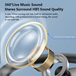Image 3 - TWS Wireless Bluetooth Earphone Waterproof Sports Headphone 9D Hifi Stereo Mini Earbuds Noise Canceling Headsets With Microphone