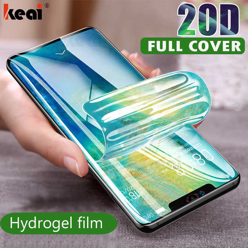 20D Screen Protector Hydrogel Film For Huawei P20 P30 Pro Mate 20 10 Lite Protective Film For Huawei Mate 30 Pro Film Not Glass