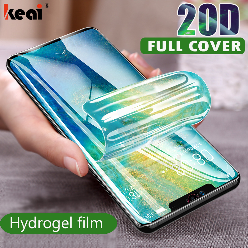 20D Screen Protector Hydrogel Film For Huawei P40 P20 P30 Lite Protective Film For Honor Mate 30 20 Pro 10 i Lite Film Not Glass(China)