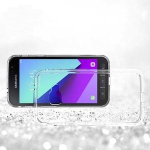 Image 2 - Silicon Mềm TPU/PC Ốp Lưng Dành Cho Samsung Galaxy Samsung Galaxy Xcover 4 Fundas Capa Chống Sốc Trong Suốt Vỏ Lưng Cứng cho X Nắp 4