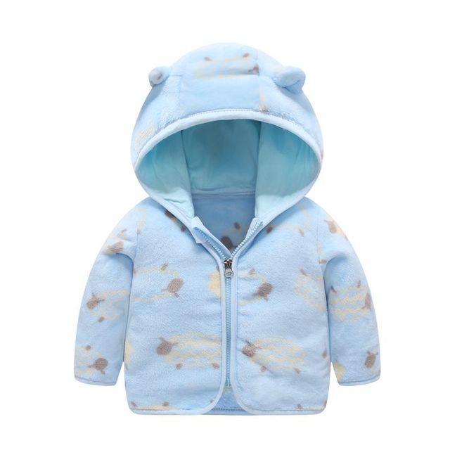 Hooded Fleece Baby Coat 4