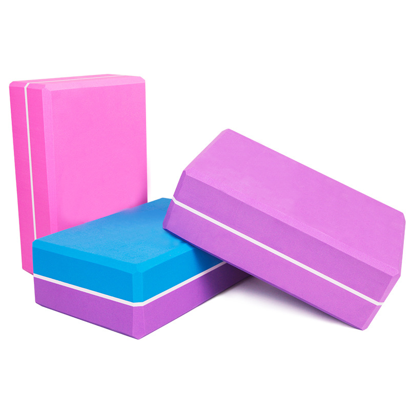 SENOYA Yoga Blocks Colorful Foam Bricks Hot Sale Fitness Pilates Strength Training Internal Exercise Body Shaping Dropshipping