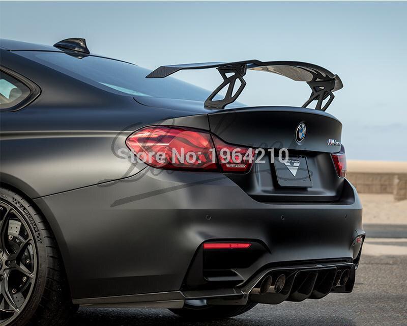 Автомобильный Стайлинг внешний углеродное волокно модифицированный GT задний спойлер задний Багажник крыло для губ украшение подходит для