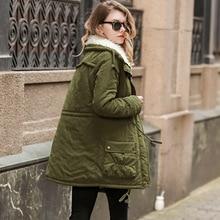 parka women coat boho 2018 pink clothing black fahsion zipper long solidplus siz jacket korean womens winter coats