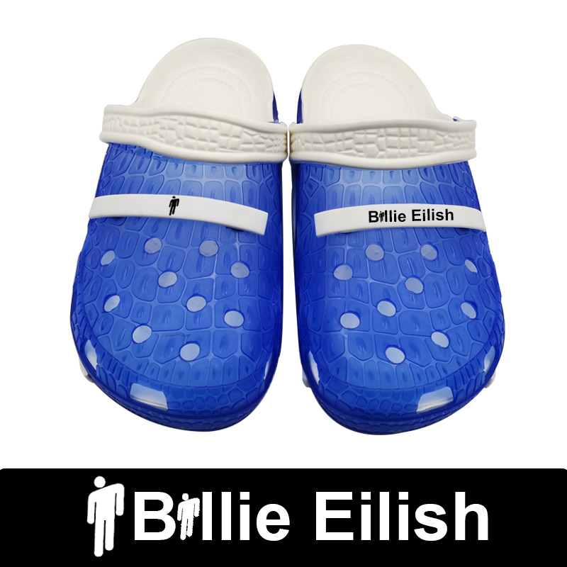 Buy Billie Eilish Crocse Zapatos De Mujer Enjoy The Spirit Funny Croks Shoes Woman Beach Flat Clogs Sandals Chaussures Femme Ayakkab
