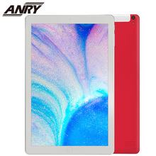 ANRY Wifi GPS 4G Tablet 10 inch Pc Android 8.1 IPS 1280x800 2MP+2MP Dual Cameral Quad Core Processor 2GB RAM 32GB ROM Phablet teclast p80x 8 inch tablet android 9 0 daul 4g phablet sc9863a octa core 1280 800 ips 2gb ram 16gb rom tablet pc gps dual camera