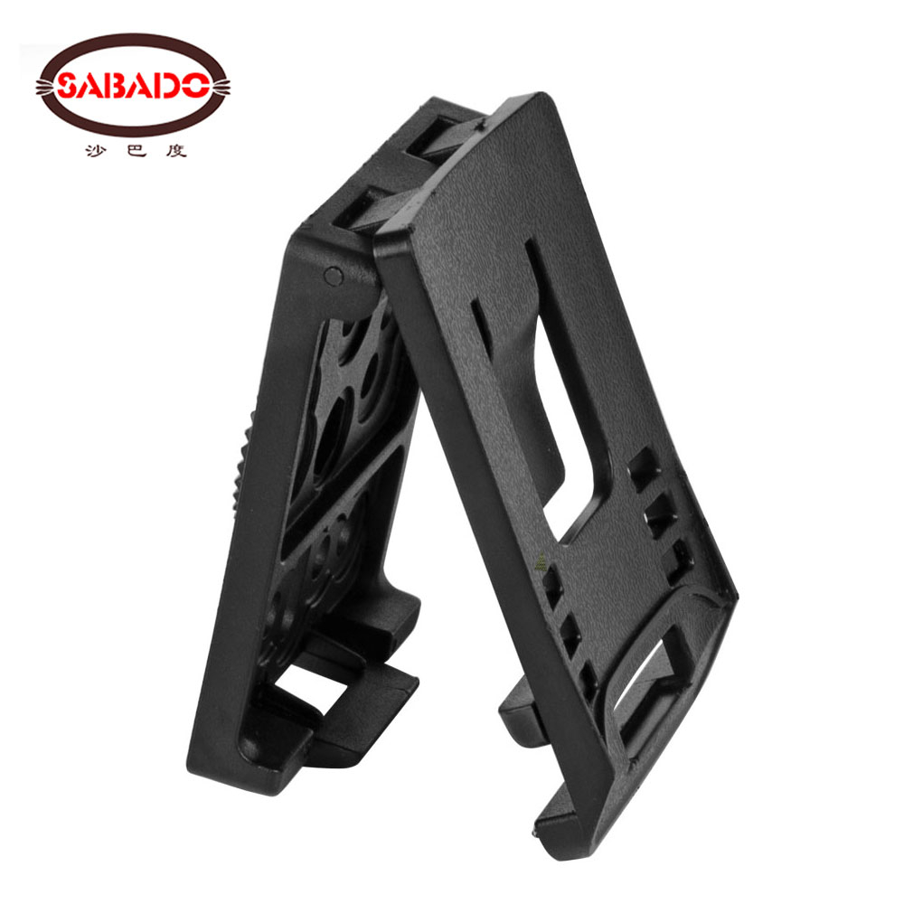 Sabado Tactical Army Belt Loops Mounting Attachment Clips Adaptor For Rotatable Holster PP Magazine Pouch Hunting Accessories