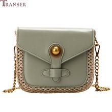 Transer 2019 CasualWomen Snake skin Shoulder Bag Women Ladies Girls Fashion Straw Shoulder Handbag Tote Purse Crossbody Bags(China)
