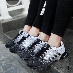 Image 3 - الرجال أحذية مفلكنة الرجال الصيف عادية للجنسين خفيفة الوزن تنفس شبكة موضة الذكور المشي حذاء رياضة Size35 47 كبير