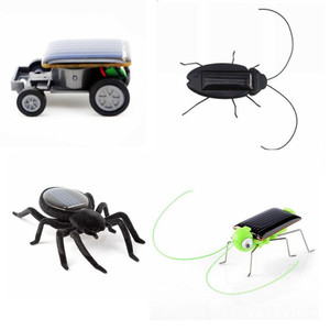 Развивающая мини-игрушка на солнечной батарее, автомобиль, гонщик, паук/ковш/тараканов, робот-игрушка, игрушечный гаджет на солнечной энерг...