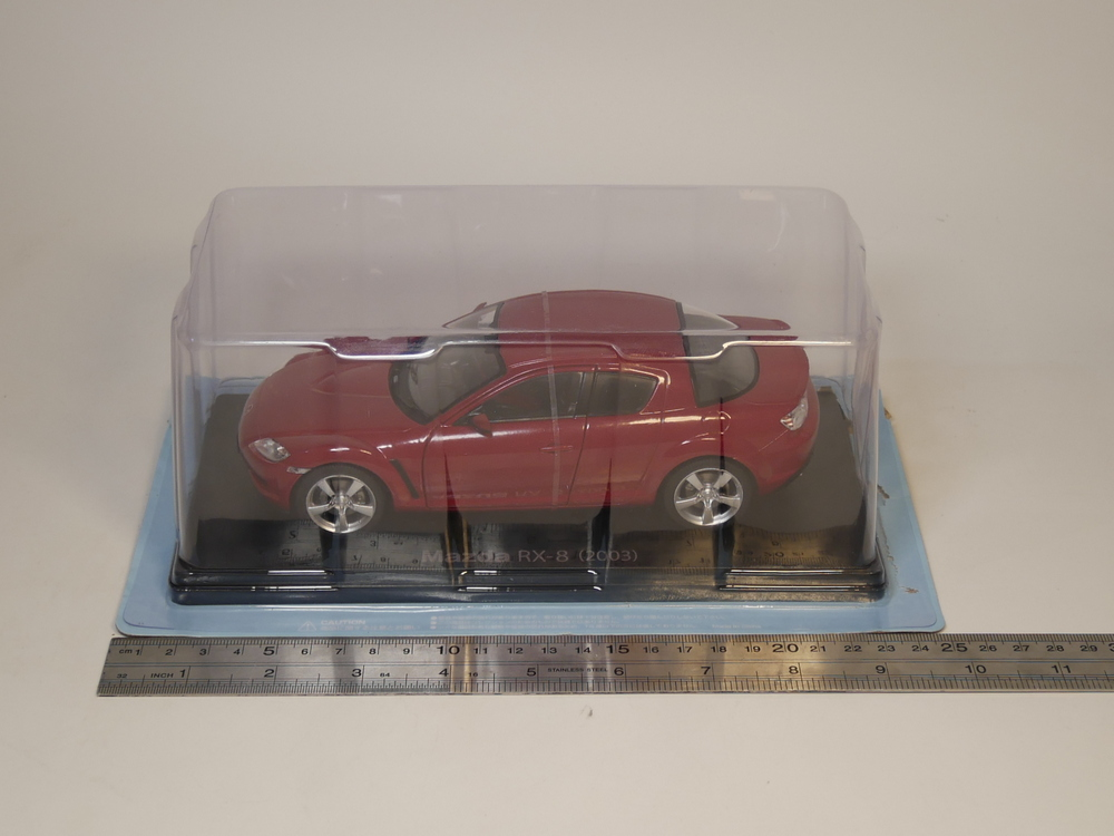 Hachette 1:24 Mazda RX-8 2003 Japanese car collection Diecast model car