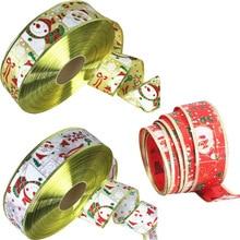 200cm/bag Christmas gift box Decorations Ribbons Party Supply Xmas Bow Ribbon High-Grade tree For Home