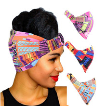 Cotton Headband for Women African Pattern Print Headwear Ladies Fashion Salon Makeup Hair Band Wrap Turban Hair Accessories