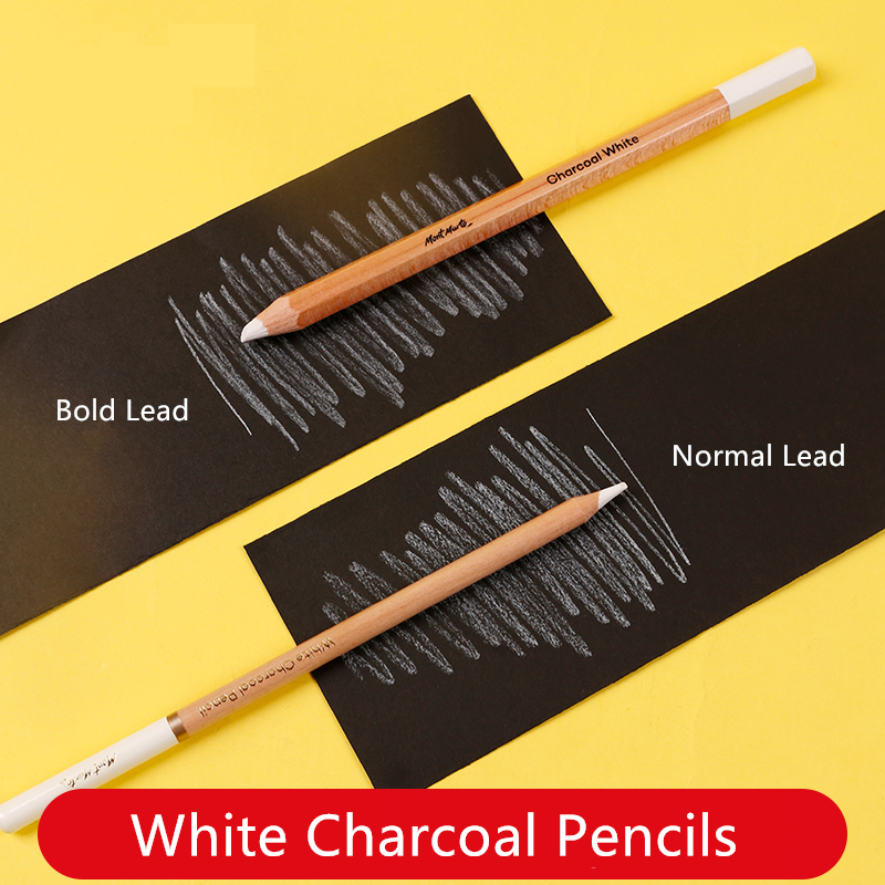White Charcoal Pencil Highlight Sketch Pencils MPN0041 Sketching Drawing Art Tools Bold Lead Not Easy To Break