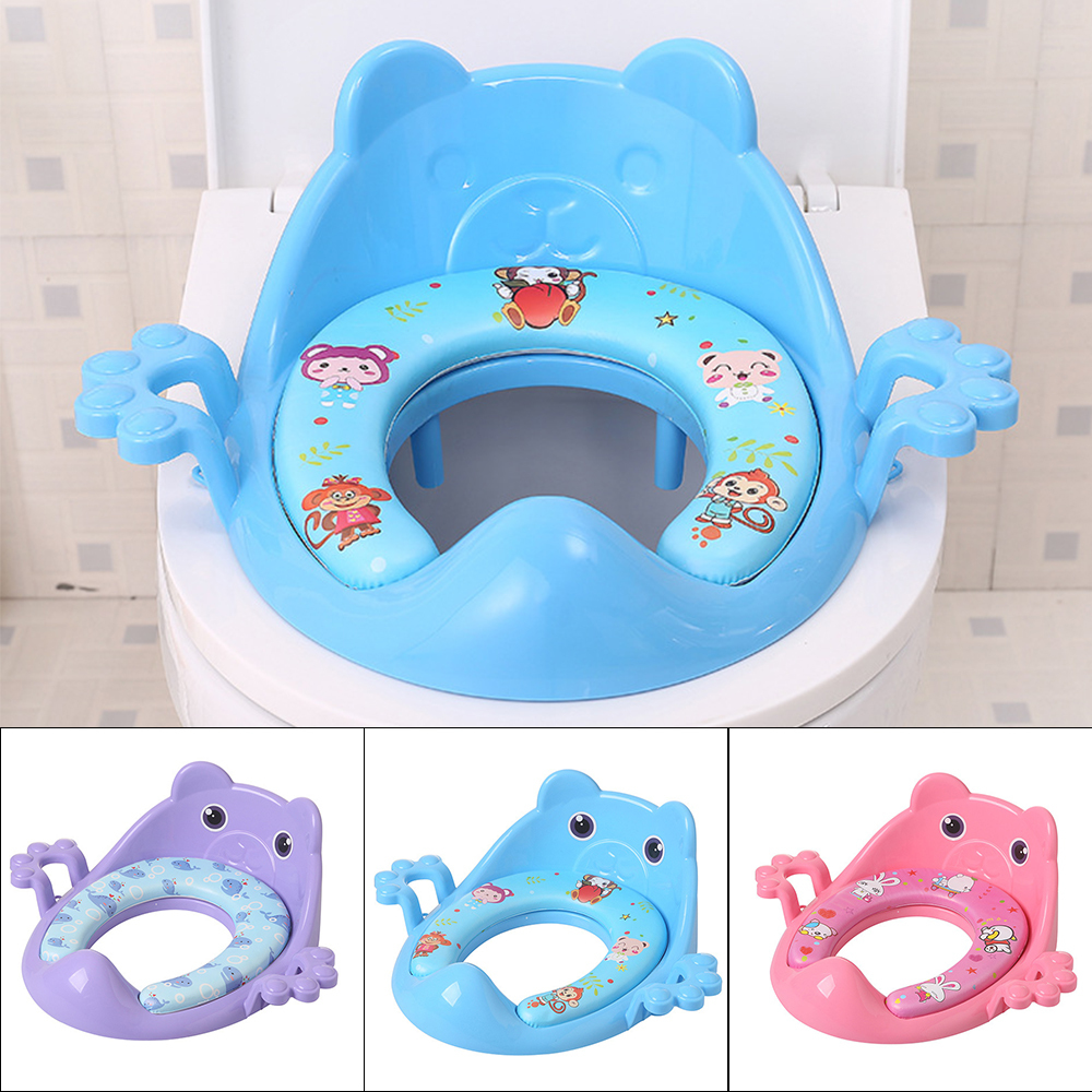 Portable Baby Potty Add Soft Mat Baby Toilet  Children Training Potty Boy Girls Urinal Infant Chair Toilet Seat Children Pot
