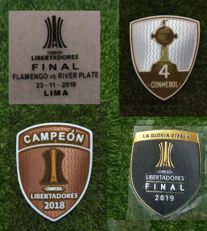2019 final copa libertadores detalhes do jogo flamengo vs river plate remendo de impressão patrocinador completo