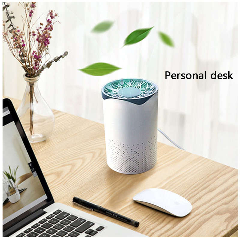 Air Purifier Filter Air Cleaner Fresh Ozone Home Auto Smoke Formaldehyde Sterilizer Smart Electric UV Light
