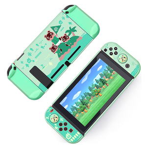 Image 3 - For Nintendo Switch Cute Case Nintend Switch PC Case Protective Housing Thin Shell Skin Colorful NS Switch Accessories