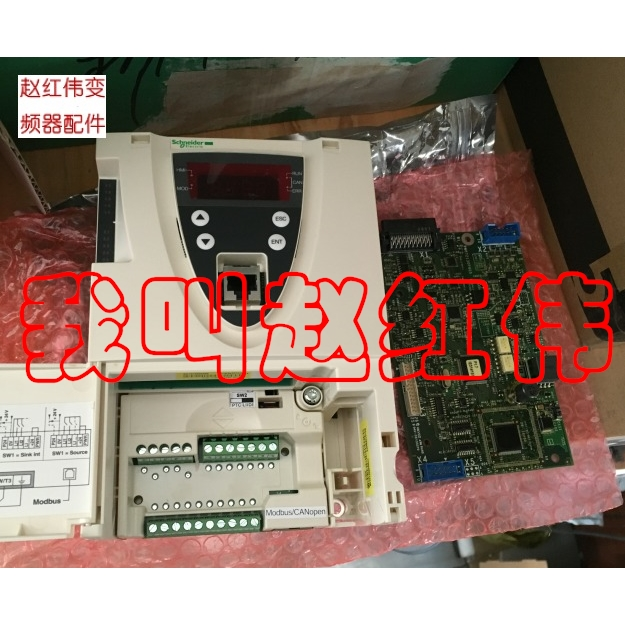 Second-hand Non-new Schneider Inverter ATV61F Cpu Control Board VX4A61101 Mainboard 200/250/315/400KW