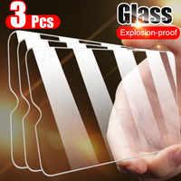 Funda completa de vidrio templado 3 piezas para Huawei P30 P20 P40 P10 Mate 20 10 Lite Protector de pantalla en Honor 10i 20 9 Lite P vidrio inteligente