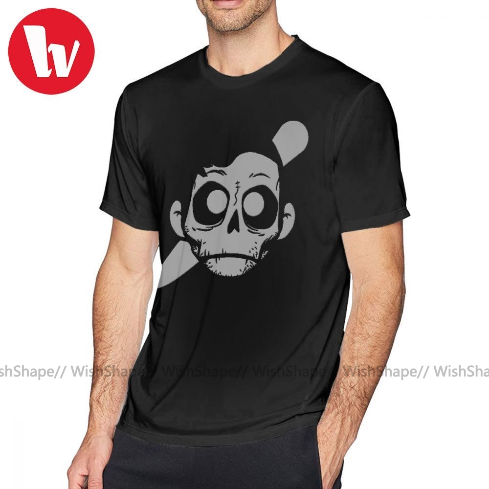 The Chainsmokers T Shirt Zomboy T-Shirt Men Printed Tee Shirt Short Sleeves 100 Cotton Awesome Plus Size  Streetwear Tshirt