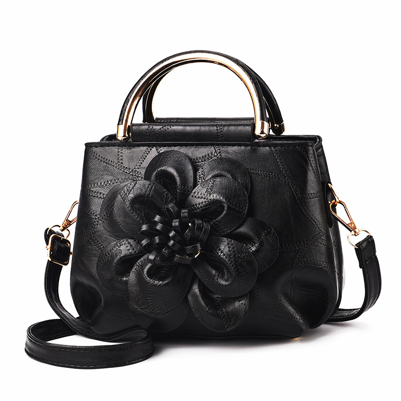 luxury handbags  for 2019New European and American fashion, vintage handbags, fashionable flowers, cross-body bag