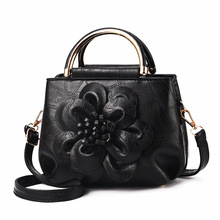 luxury handbags  for 2019New European and American fashion, vintage handbags, fashionable flowers, cross-body bag
