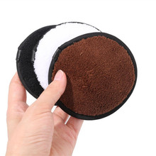 1Pcs Makeup Remover Pads Microfiber Reusable Face Towel Make-up Wipes Cloth Washable Cotton Pads Skin Care Cleansing Puff