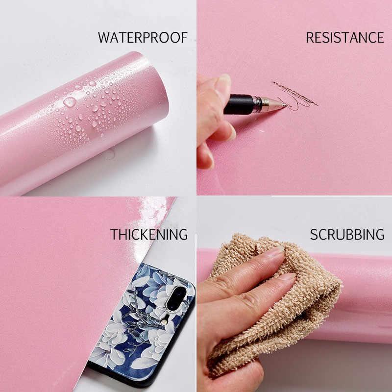 DIY PVC עצמי דבק טפט ריהוט סרט קיר מדבקות מטבח ארון דלת ויניל קשר נייר בית תפאורה קיר מדבקות