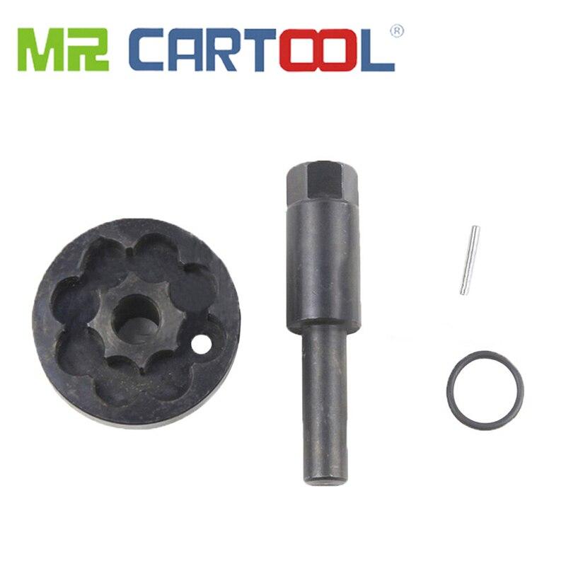MR CARTOOL Engine Timing Rotation Tool Crank Crankshaft Turning Tool For Audi V6 V8 Petrol Engine Equiv T40267 T40272