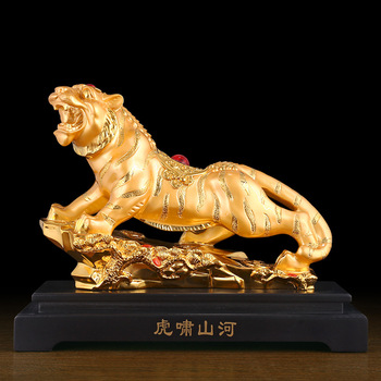 Wholesale recruitment Open up money Chinese Zodiac tiger ornament Office boss desk Decorative arts and crafts