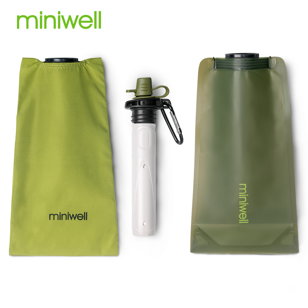 survival outdoor portable water purifier good for hiking camping|Safety & Survival| |  - title=