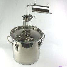 Дистиллятор для самостоятельного изготовления виски 20 литров домашний пивоваренный спирт виски водка cidre дистилляционный охладитель конденсатора бар
