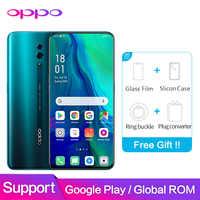 OPPO Reno Global ROM 6GB 128GB prend en charge le logiciel NFC Google 48MP + 5MP 3765mAh Snapdragon 710 Octa Core téléphone Mobile intelligent