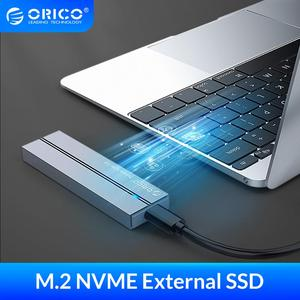 ORICO External SSD hard drive 1TB 128GB 256GB 512GB SATA mSATA NVME Portable SSD External Solid State Drive with Type C USB 3.1(China)