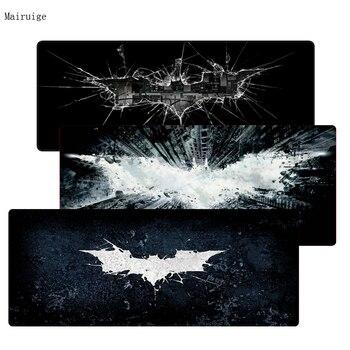 Batman Logo envío gratis alfombrillas de ratón Gaming Borde de bloqueo Mouse pad Mat para LOL Dota2 CS ratones Mouse Pad jugador del juego