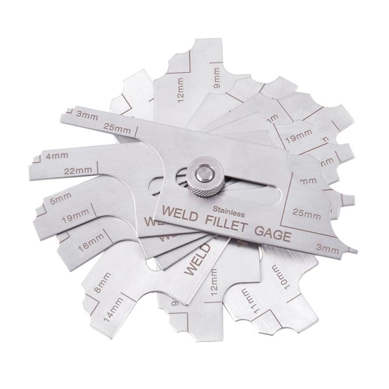 Сварочный Калибр для проверки сварочного прибора (метрический стандарт), прибор для проверки выпуклого сварного шва