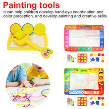 120*90cm Big Size Drawing Toys Water Mat Painting and Writing Doodle With Magic Pen Non-toxic Board for Kids